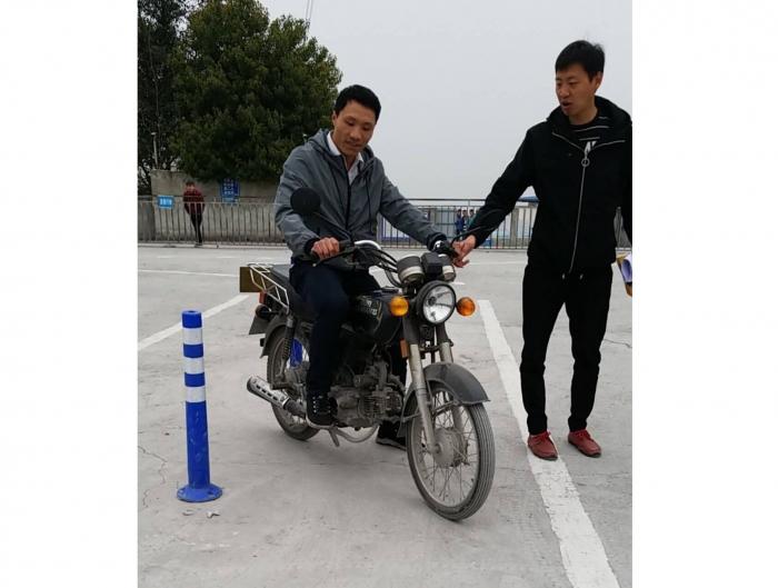 摩托车学员培训