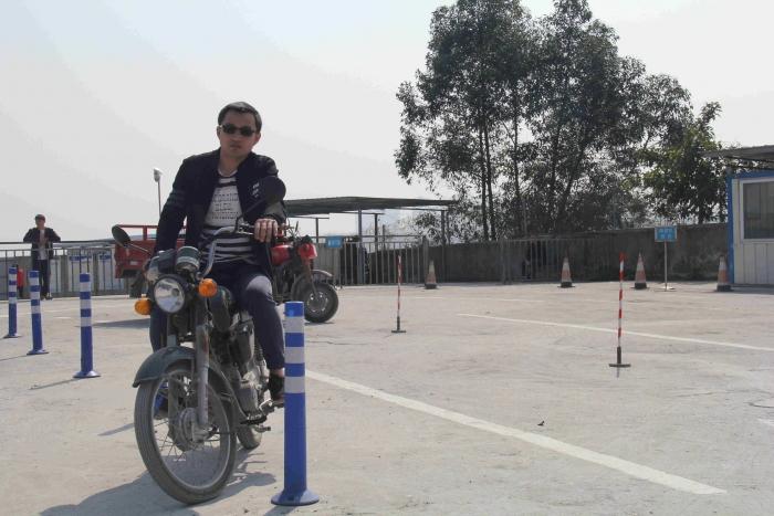 摩托车驾照培训